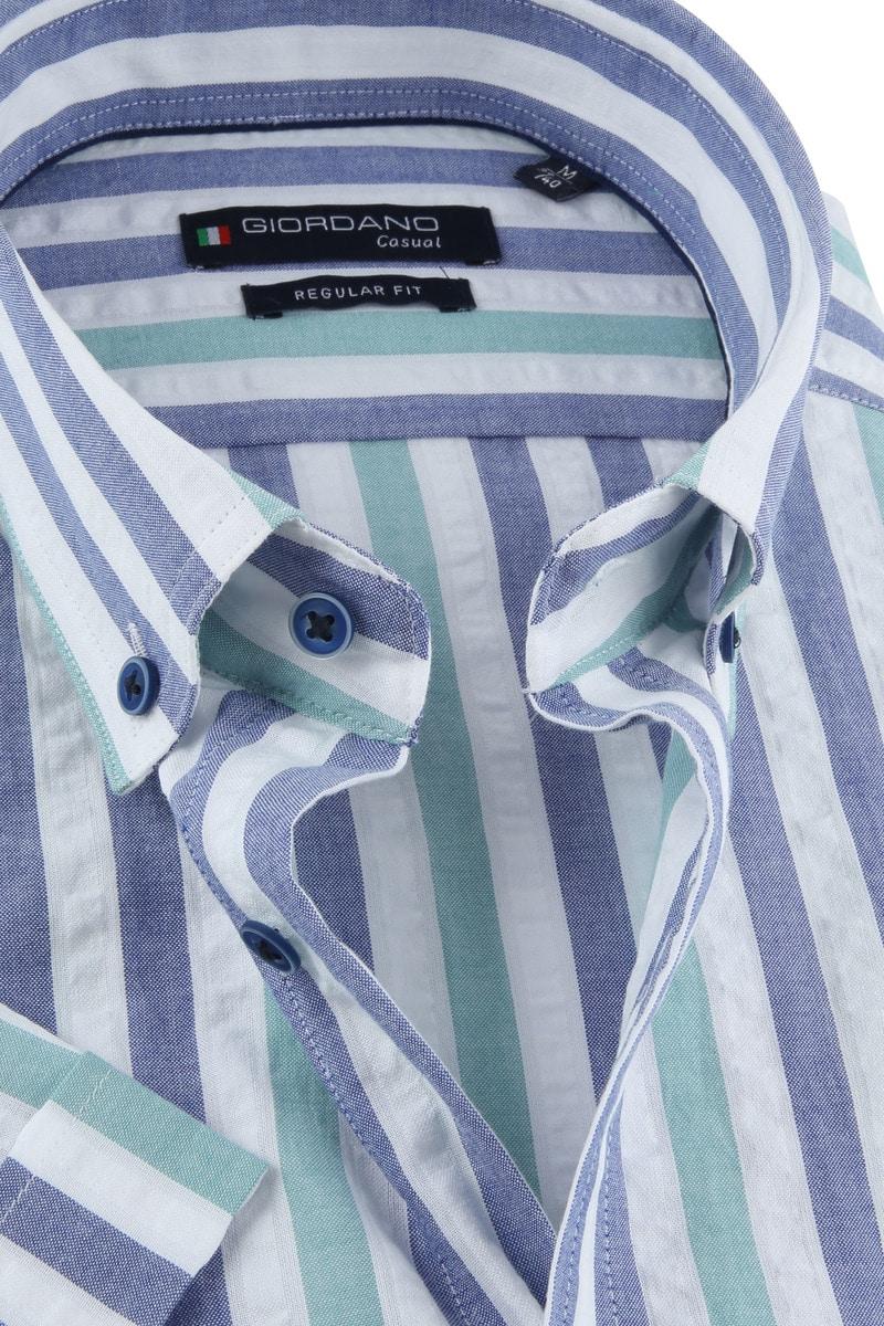Giordano League Overhemd Strepen foto 1