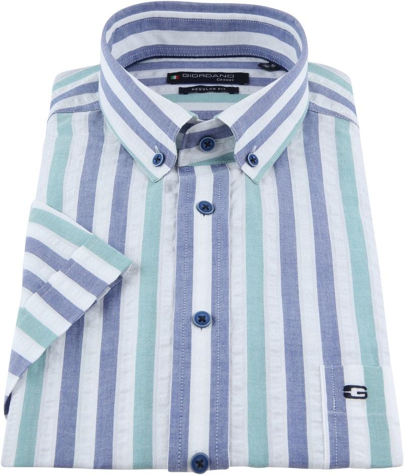 Giordano League Overhemd Strepen foto 2