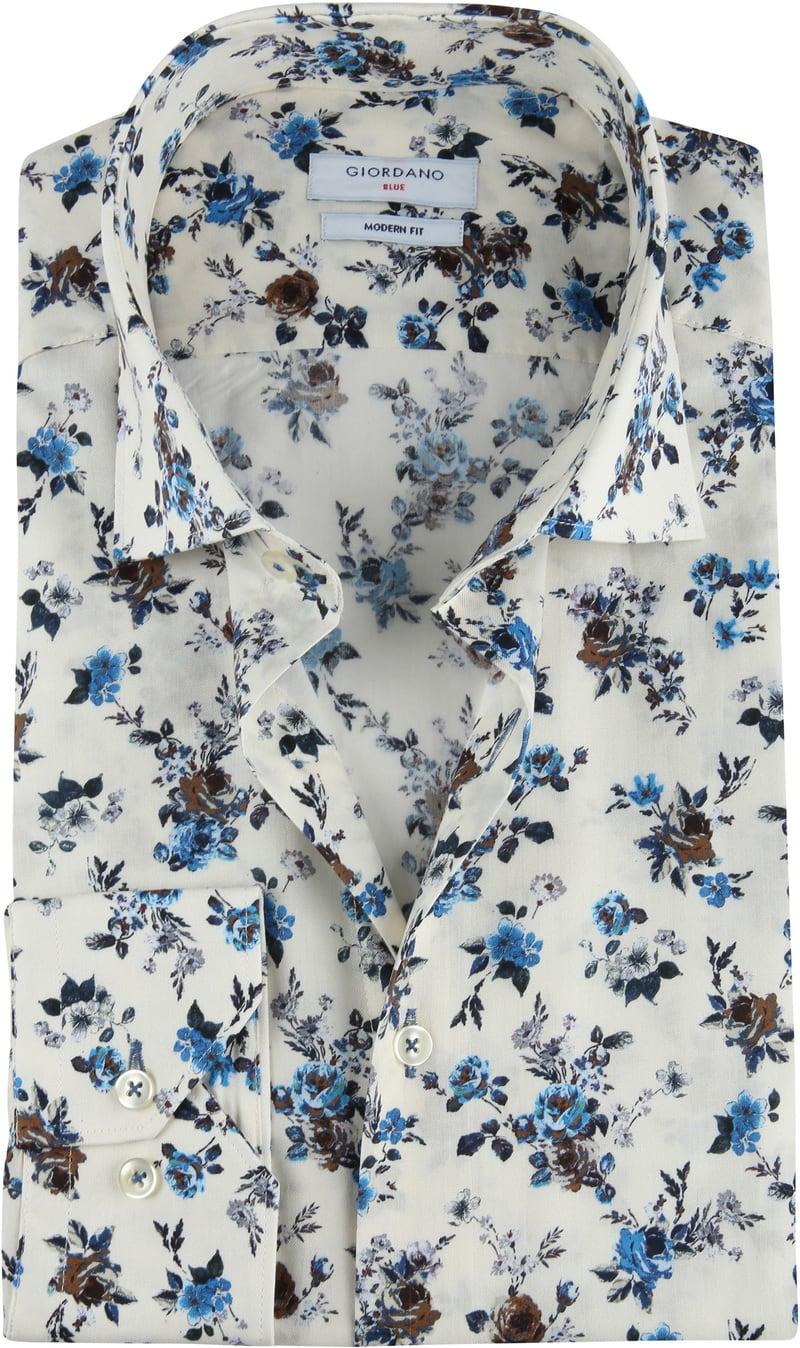 Giordano Overhemd Bloemen Multicolor foto 0
