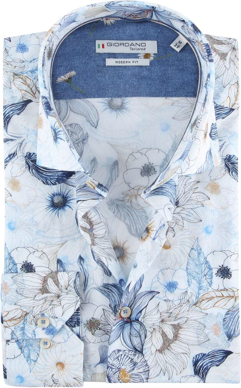 Giordano Overhemd Maggiore Blauw foto 0