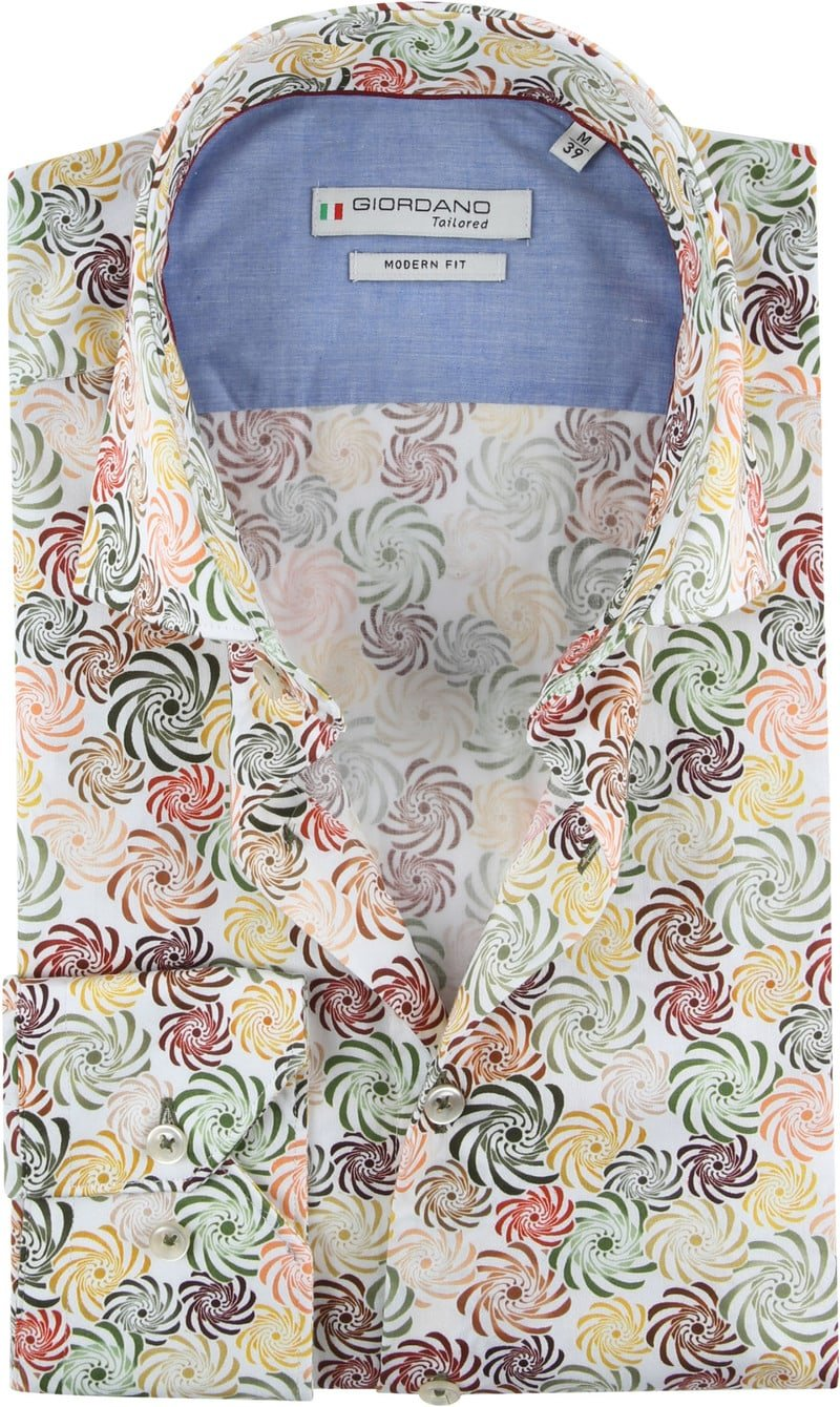 Giordano Overhemd Spiraal foto 0