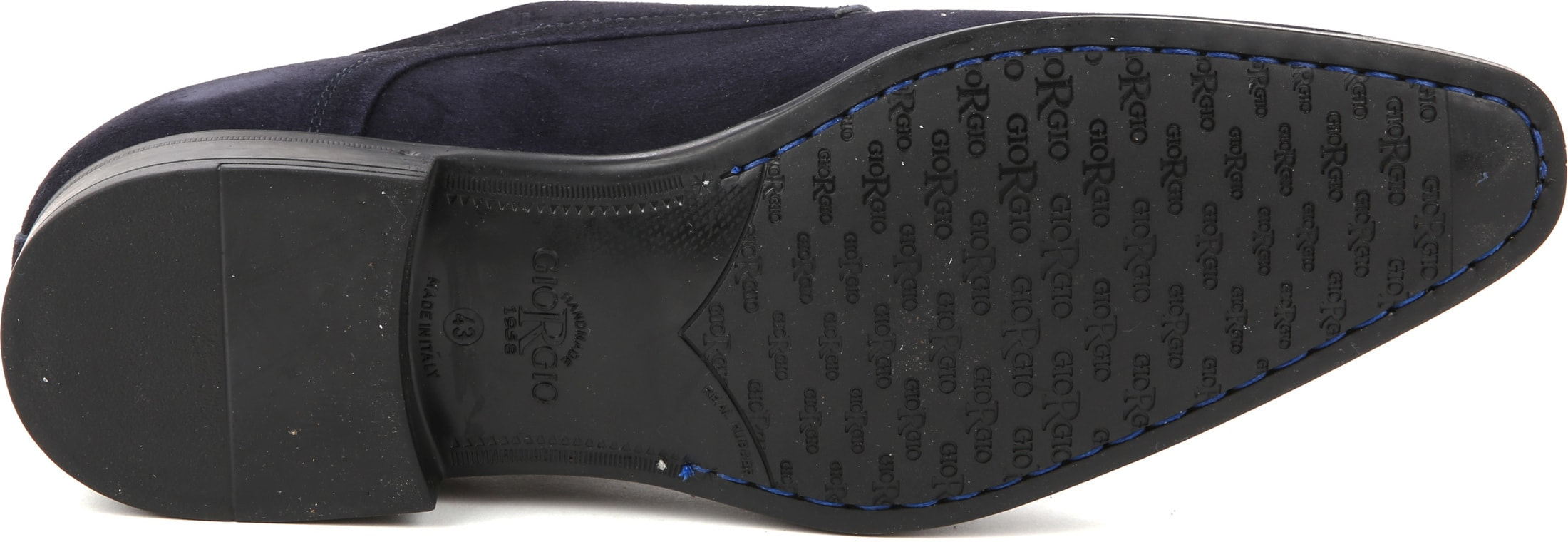 Giorgio Amalfi Shoe Monk Strap Navy photo 3