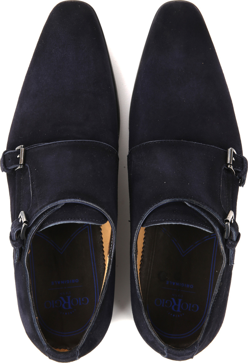 Giorgio Amalfi Shoe Monk Strap Navy photo 4