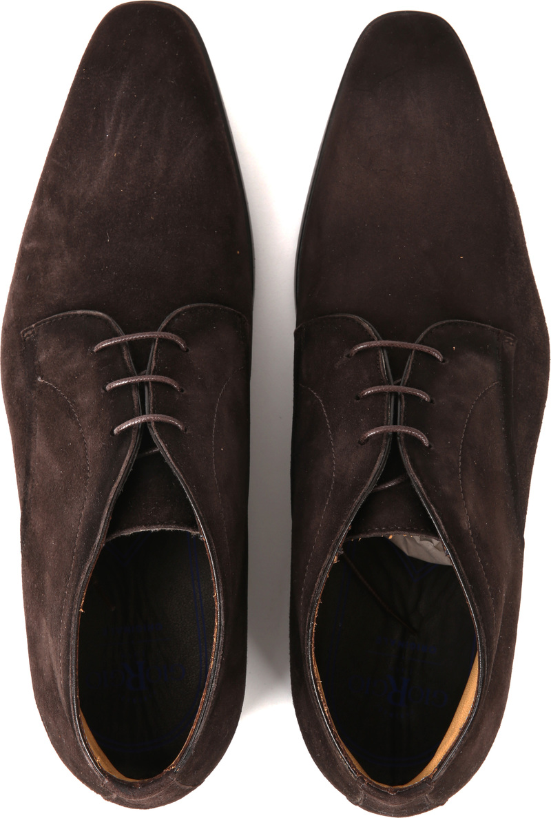 Giorgio Amalfi Shoe Suede Brown photo 4