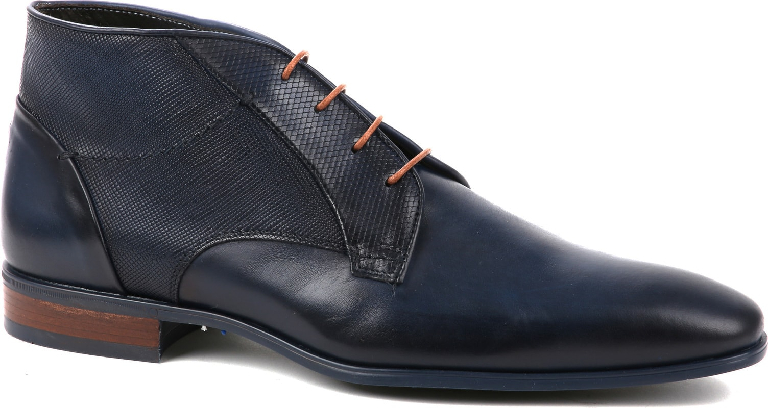 Giorgio Shoe Leather Montana Blue photo 0
