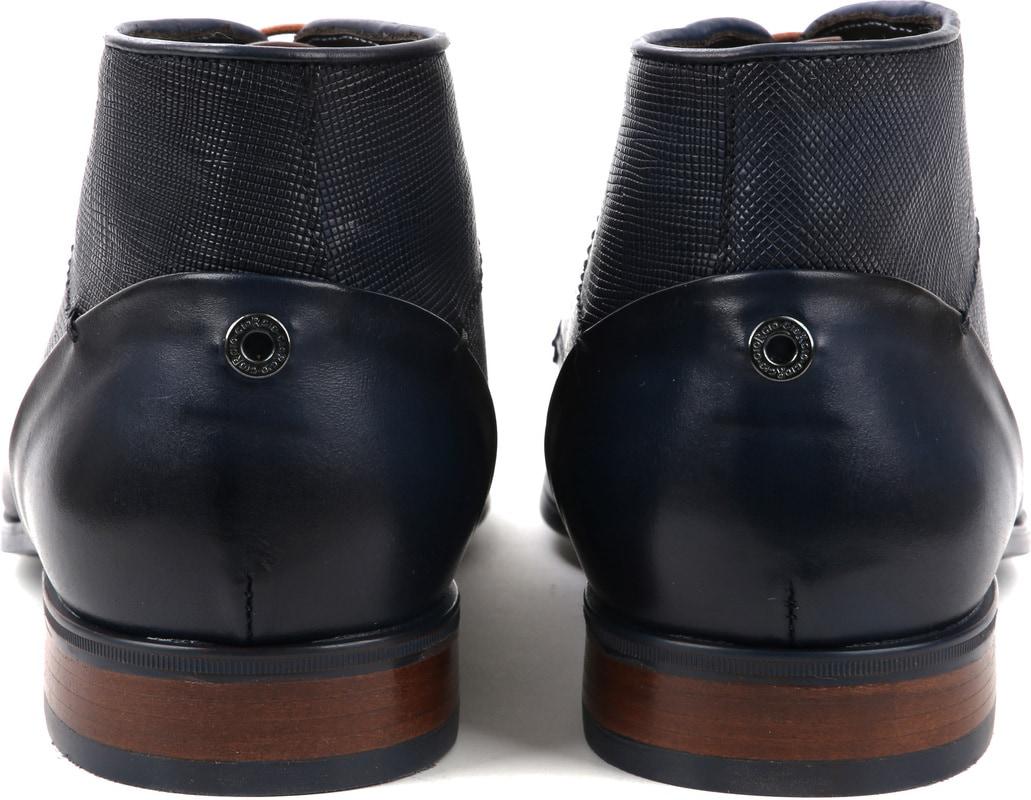 Giorgio Shoe Leather Montana Blue photo 2