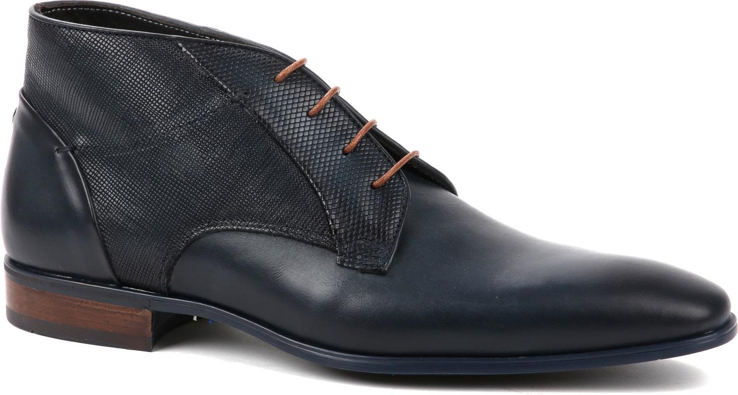 Giorgio Shoe Leather Montana Navy photo 0