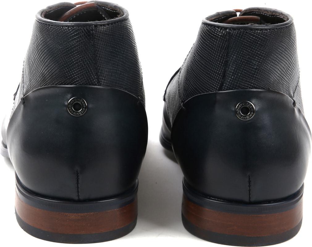 Giorgio Shoe Leather Montana Navy photo 2