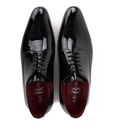 Giorgio Vernice Lace-up Shoe Black photo 3