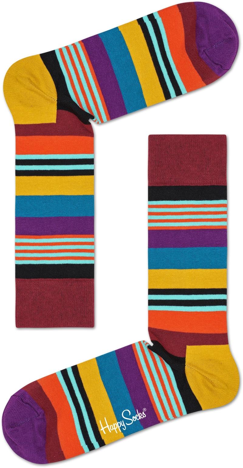 Happy Socks Multi Color Stripe foto 0
