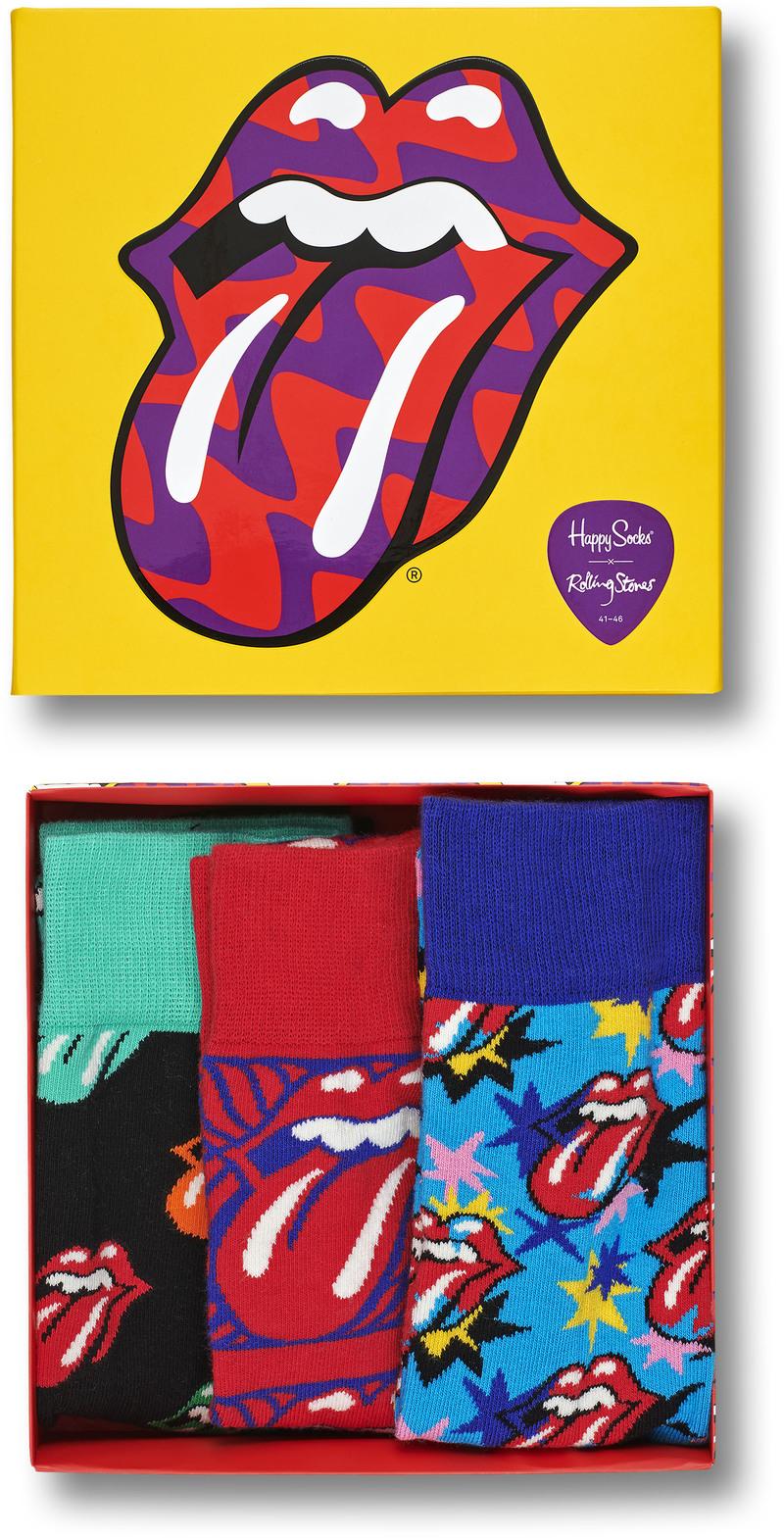 Happy Socks Rolling Stones Gift Box foto 1