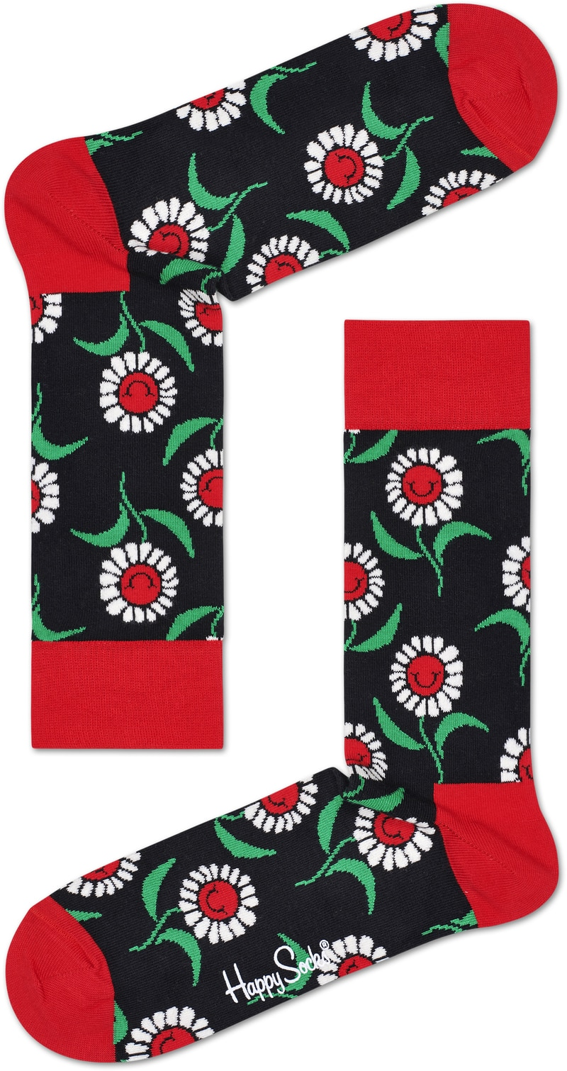 Happy Socks Sunflower Red photo 0