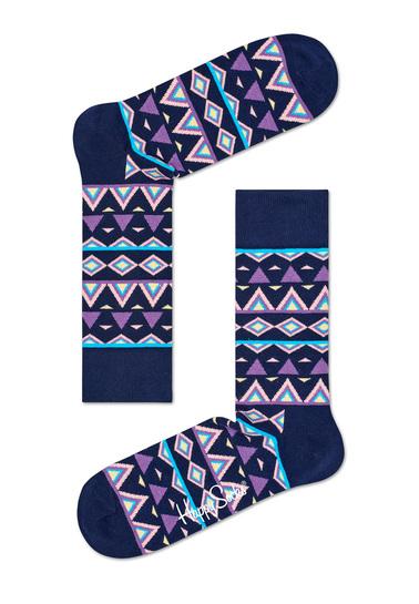 Detail Happy Socks Temple Paars TEM01-6000