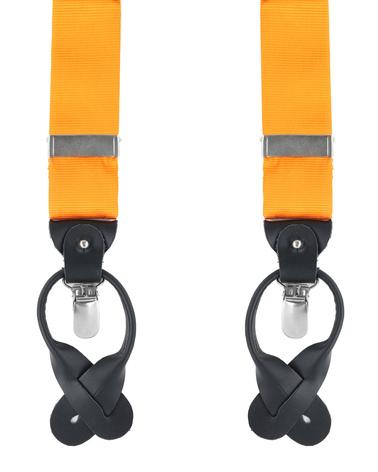 Hosenträger Seide Orange F01 Foto 0