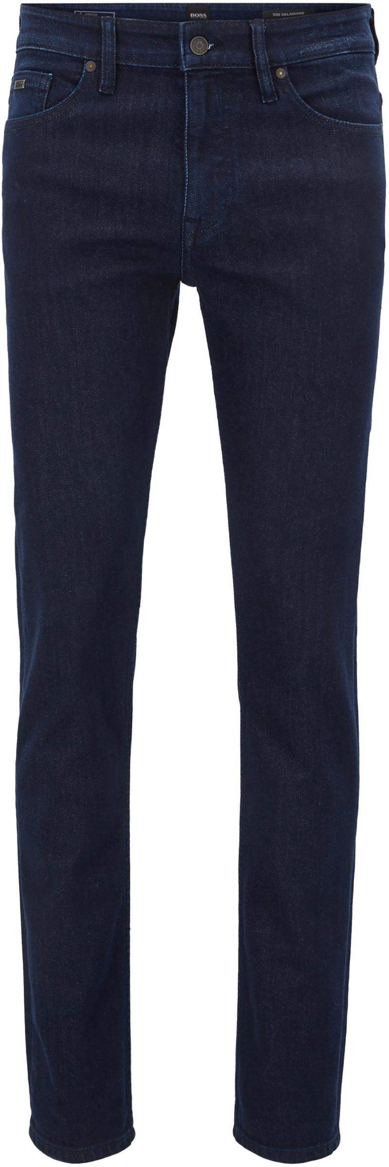 Hugo Boss Delaware Jeans BC Donkerblauw