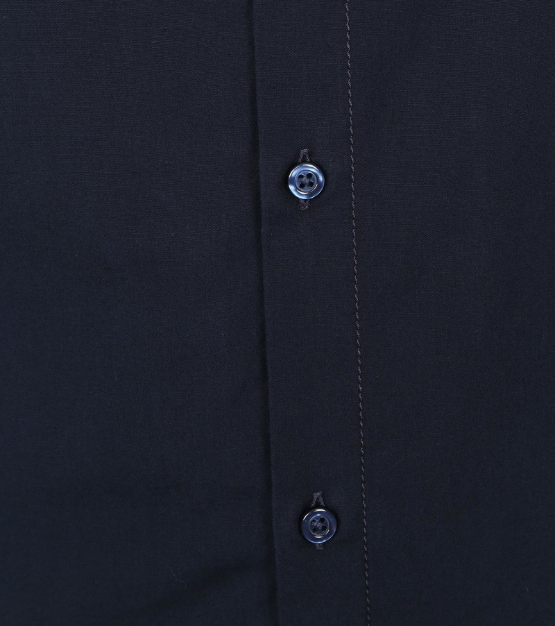 Hugo Boss Hemd Magneton Donkerblauw