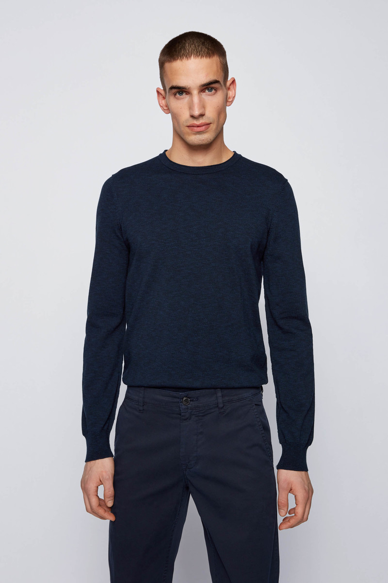 Hugo Boss Pullover Kabiron Donkerblauw