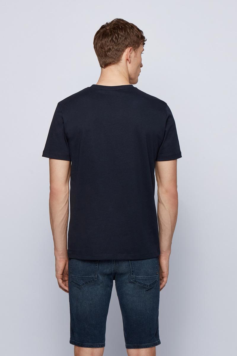 Hugo Boss T-shirt Tales Donkerblauw