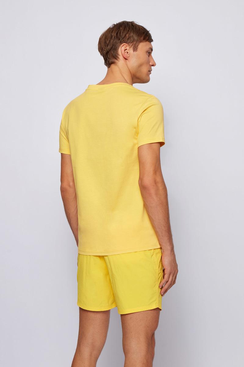 Hugo Boss T-shirt UV-Protection Geel