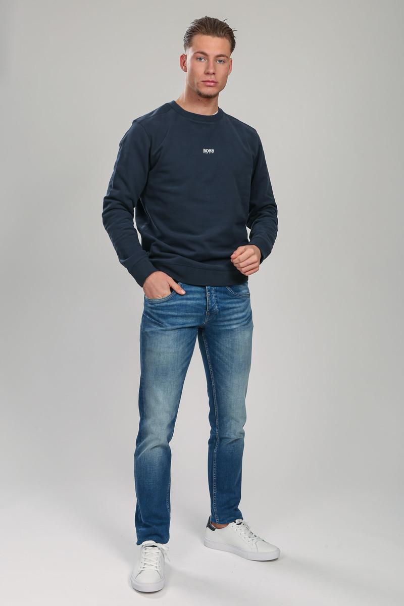 Hugo Boss Trui Weevo Donkerblauw