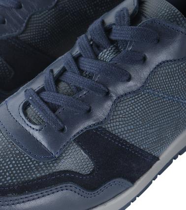 Humberto Sneaker Bertino Blauw foto 1