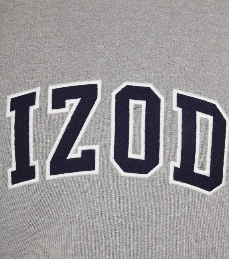 IZOD Fleece Sweater Sport Flex Light Grey photo 2