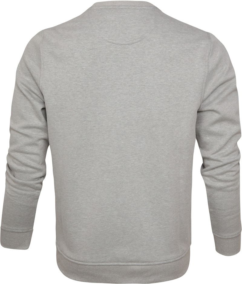 IZOD Fleece Sweater Sport Flex Light Grey photo 3