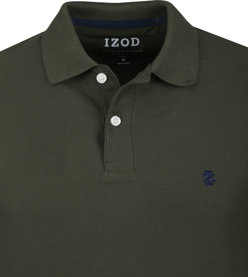 IZOD Performance Poloshirt Darkgreen photo 1