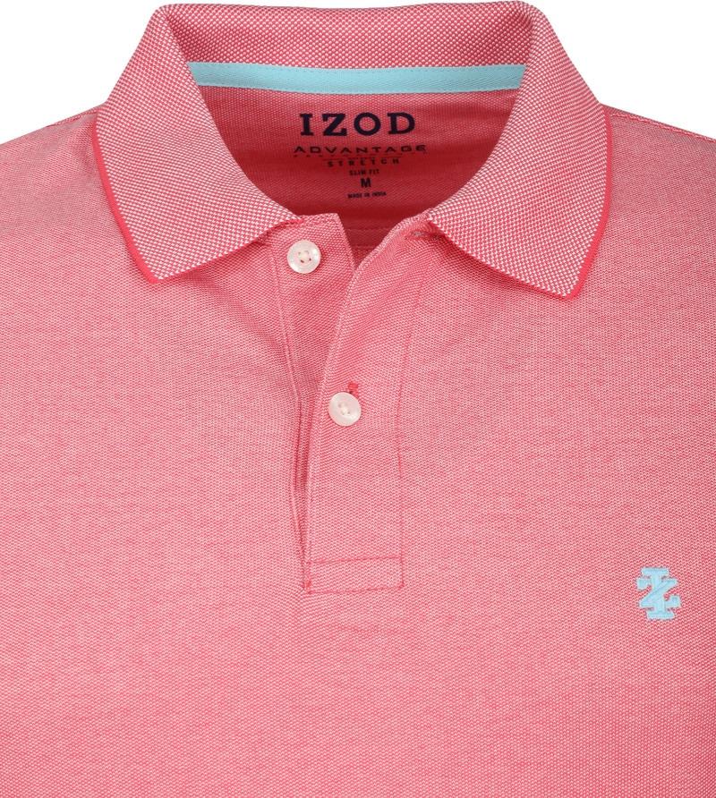 IZOD Performance Poloshirt Pink photo 1