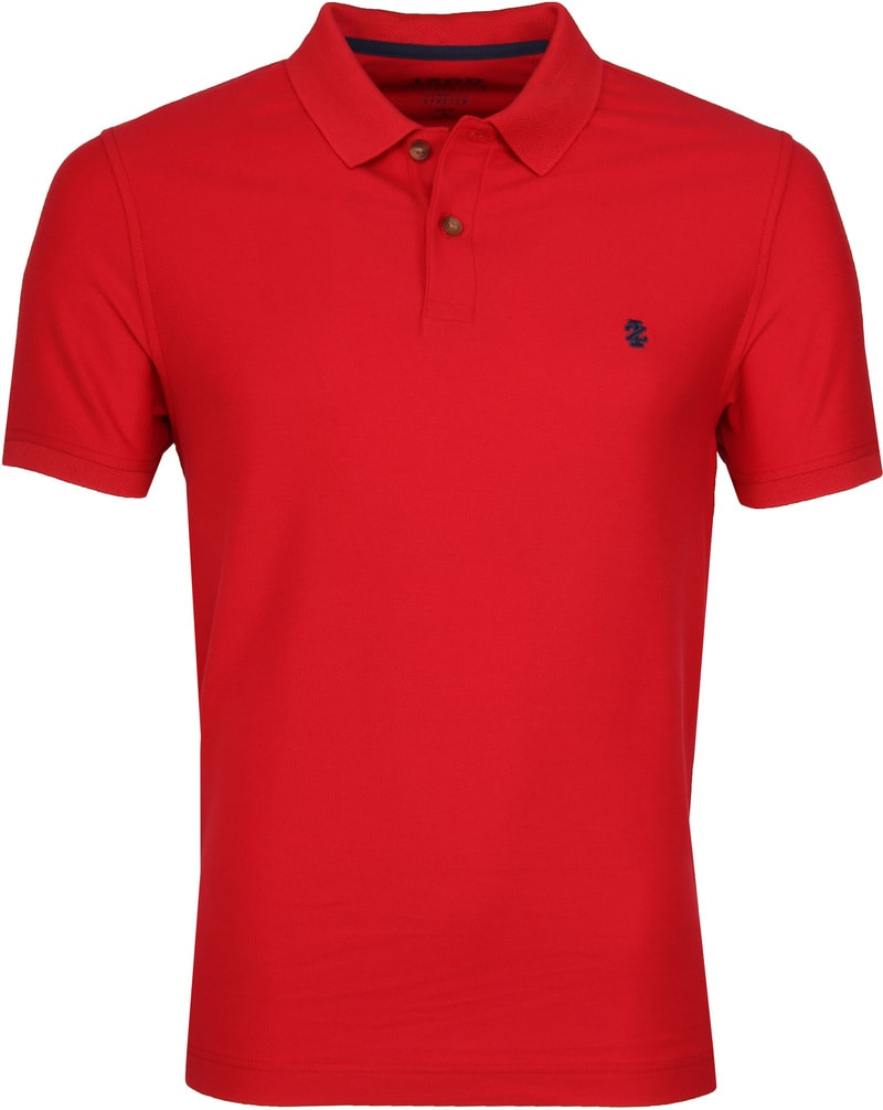 IZOD Performance Poloshirt Red photo 0