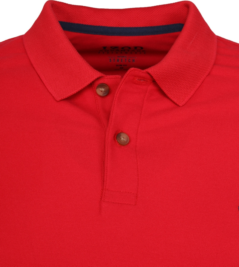 IZOD Performance Poloshirt Red photo 1