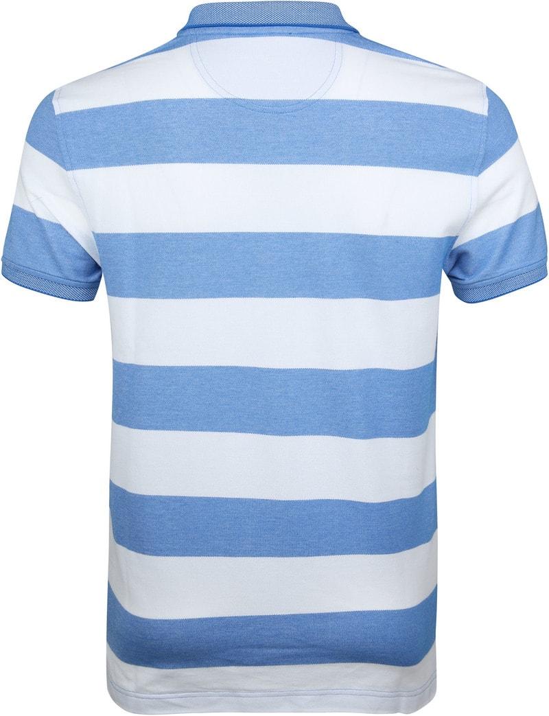 IZOD Performance Poloshirt Stripes Blue photo 3