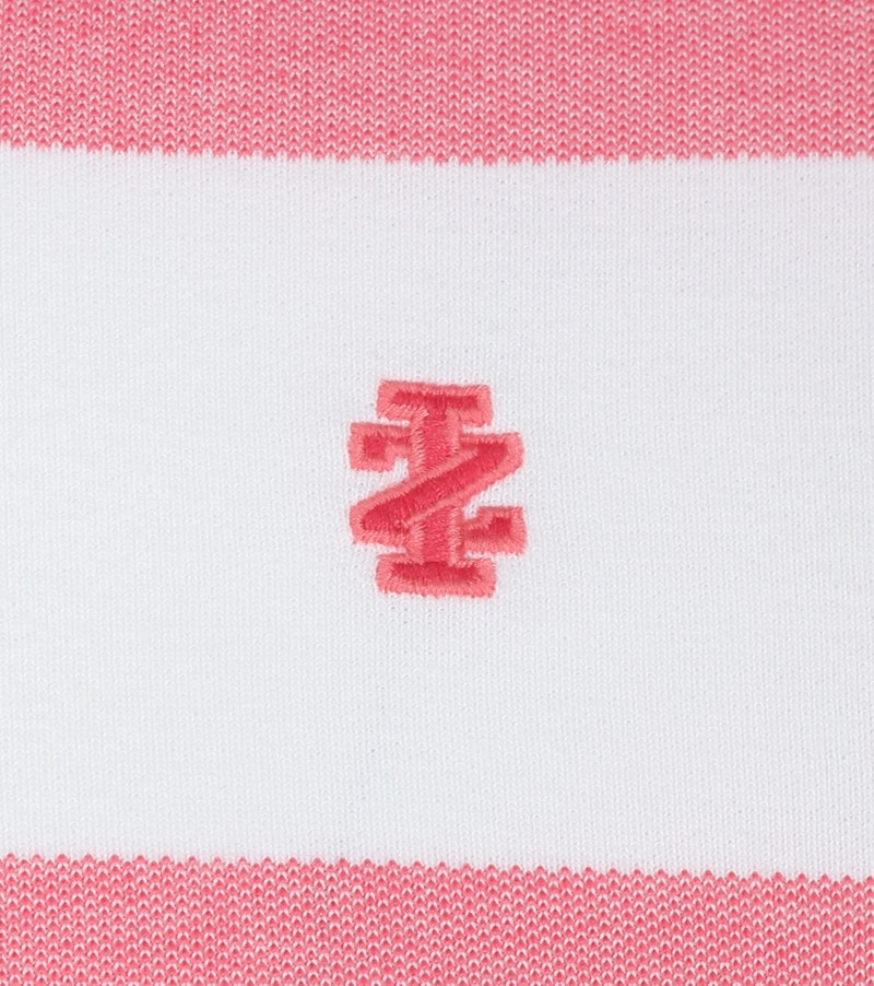 IZOD Performance Poloshirt Stripes Pink photo 2