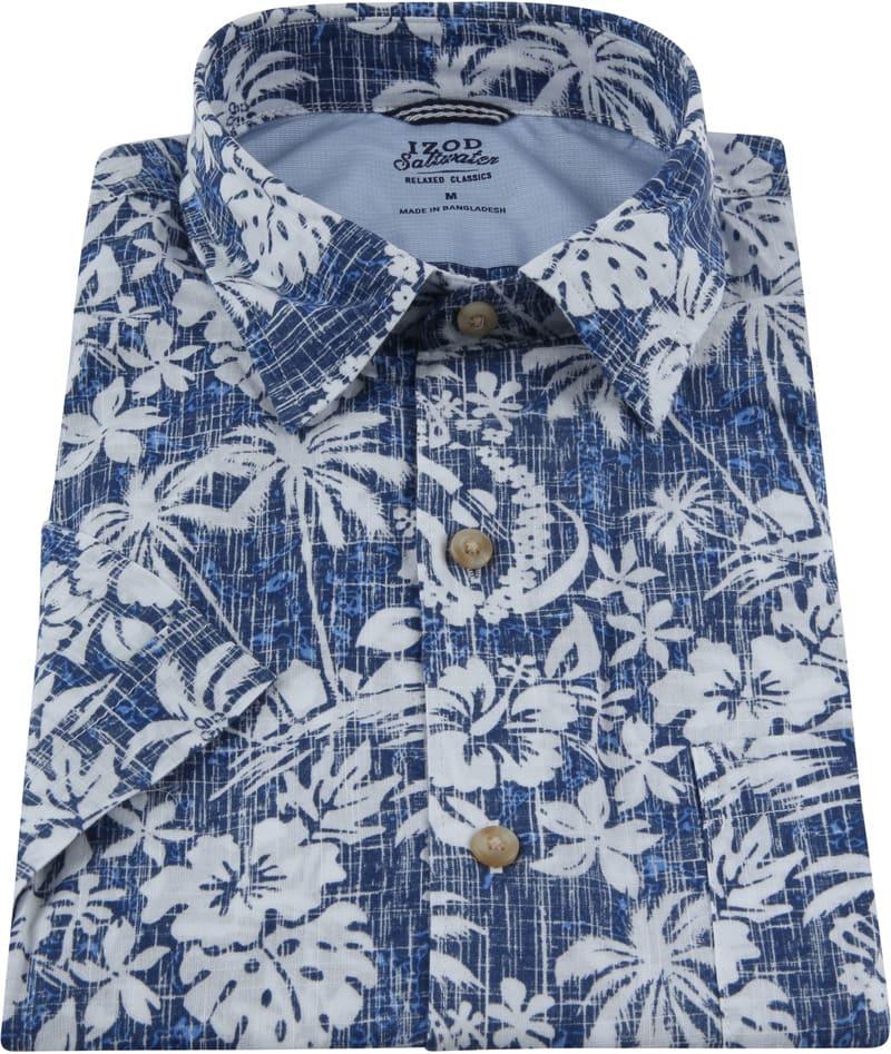 IZOD Shirt Tropical Blue photo 2