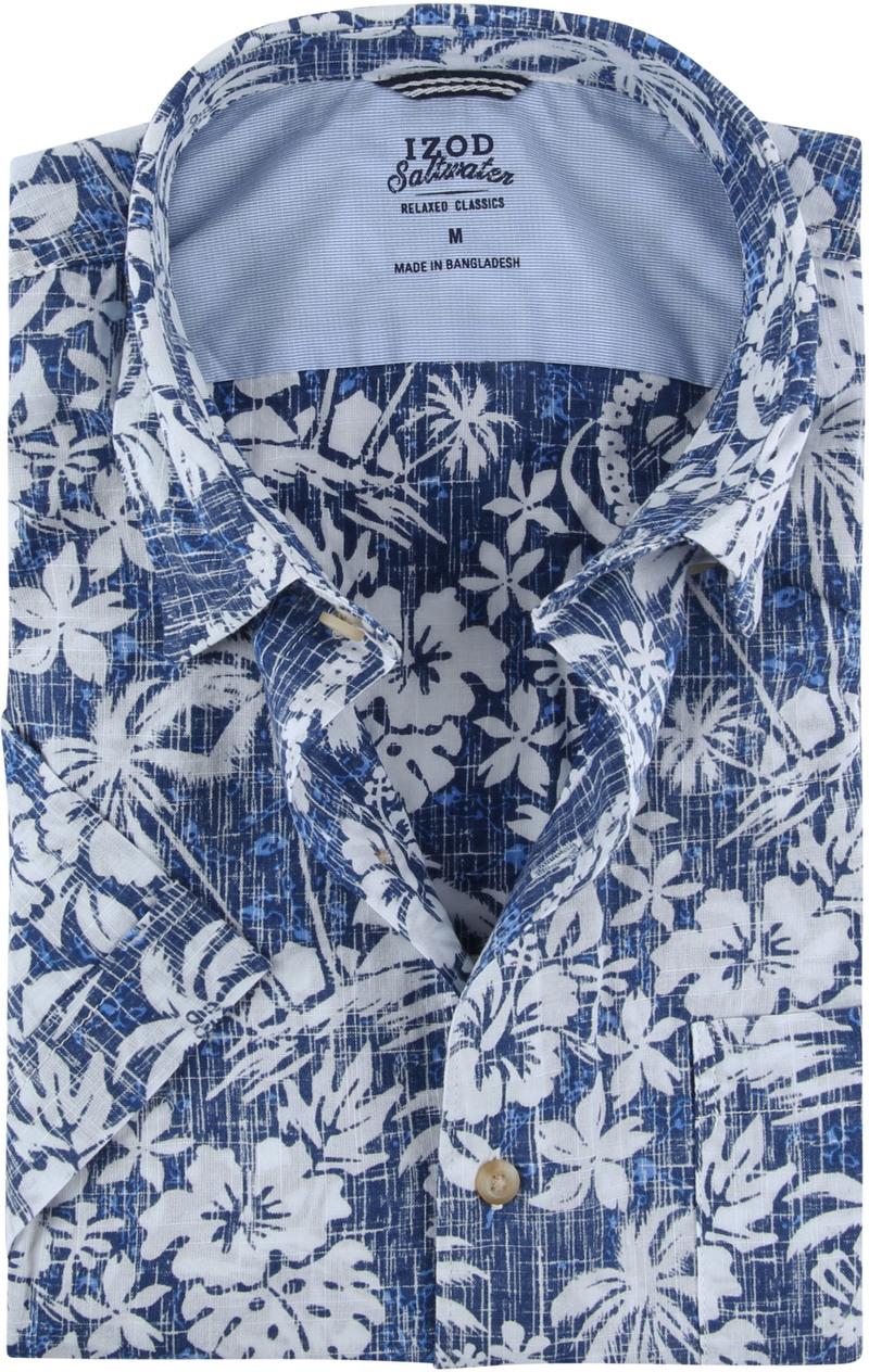 IZOD Shirt Tropical Blue photo 0