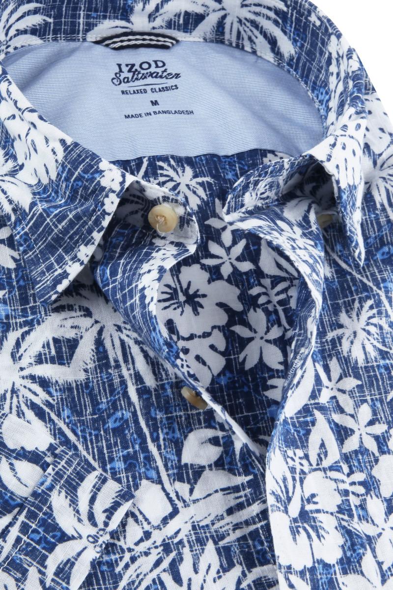 IZOD Shirt Tropical Blue photo 1