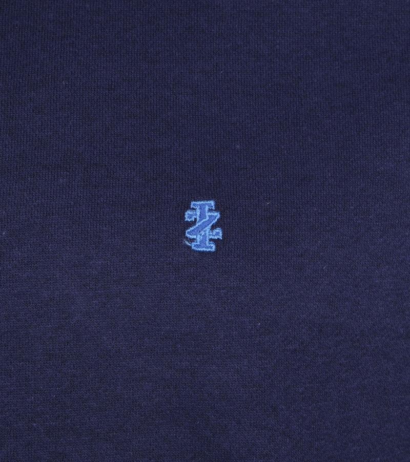 IZOD Solid Fleece Sweater Navy photo 2