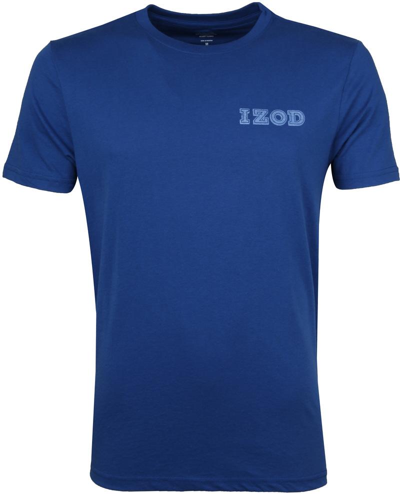IZOD T-shirt Basic Tee Blue photo 0