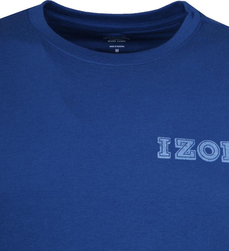 IZOD T-shirt Basic Tee Blue photo 1