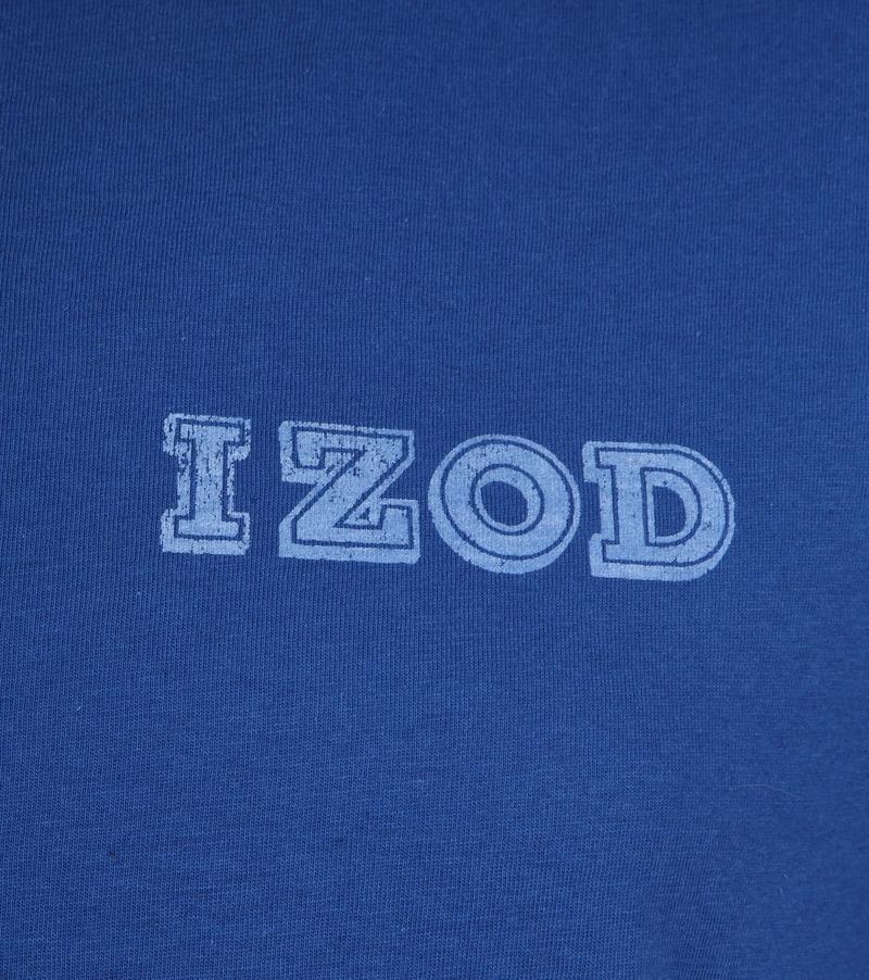 IZOD T-shirt Basic Tee Blue photo 2
