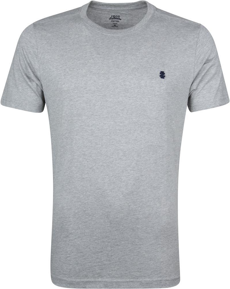IZOD T-shirt Basic Tee Grijs foto 0