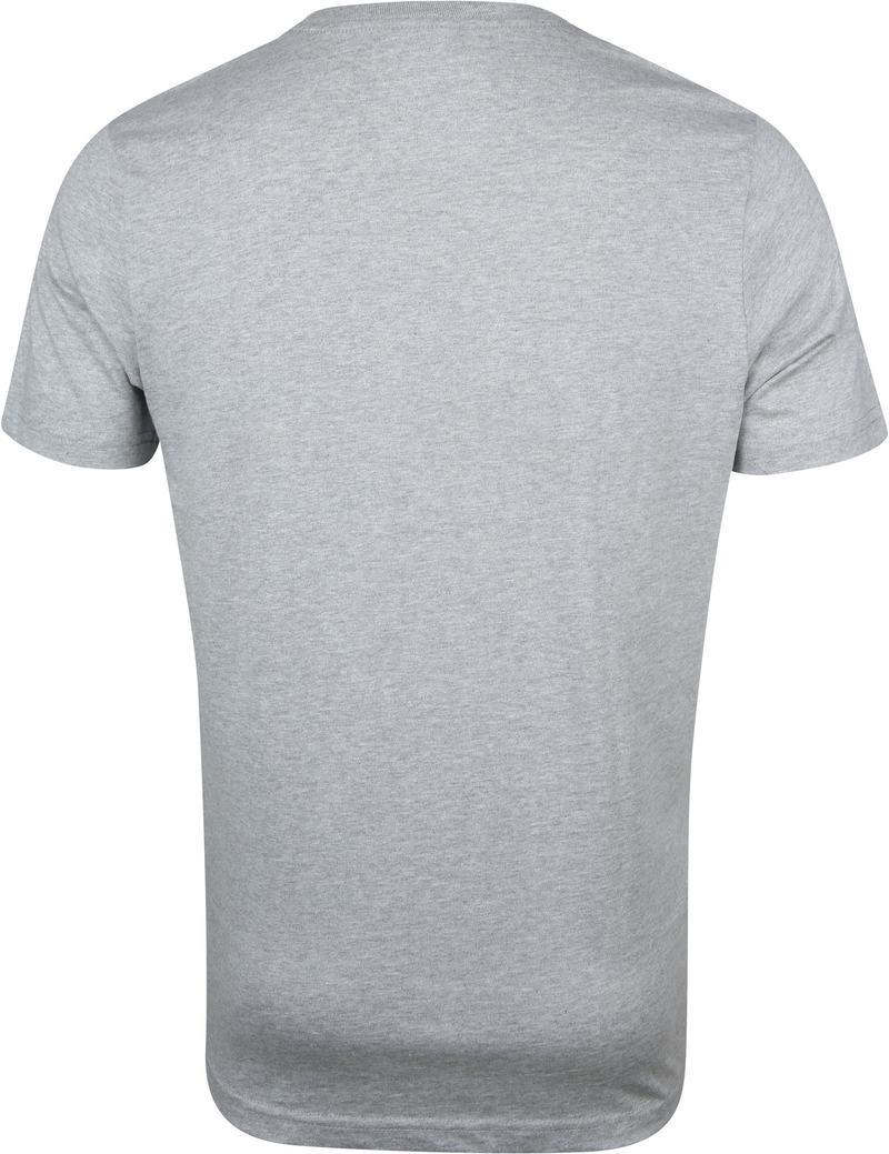 IZOD T-shirt Basic Tee Grijs foto 3