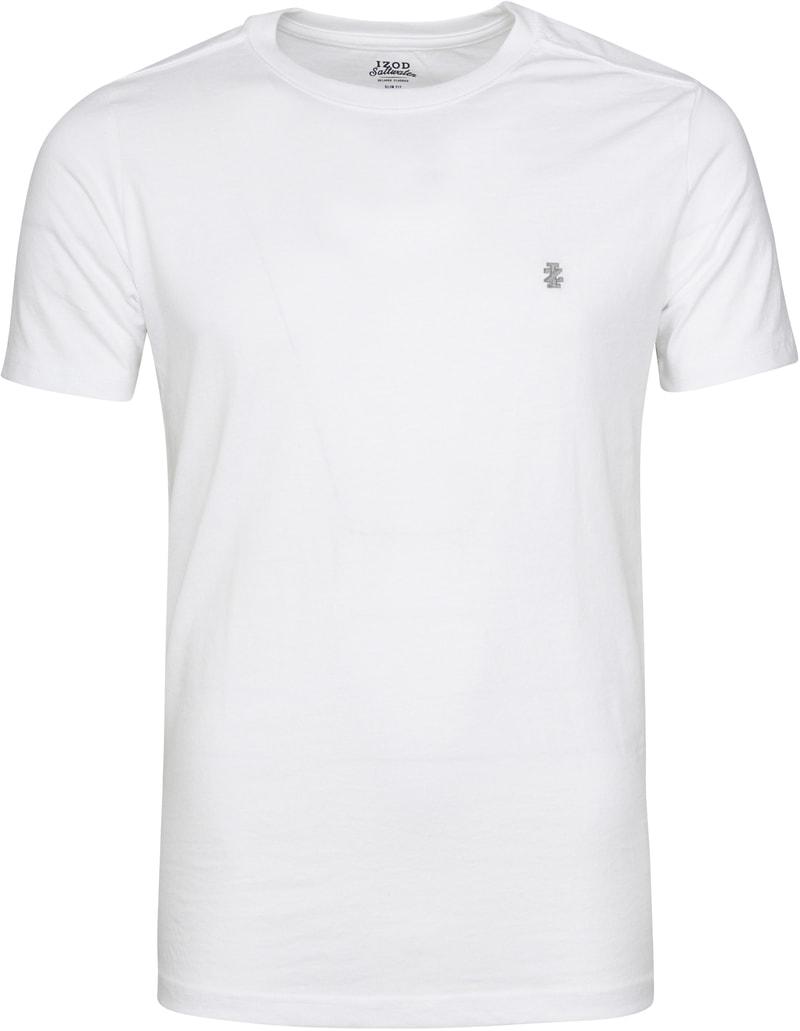 IZOD T-shirt Basic Tee Weiß Foto 0