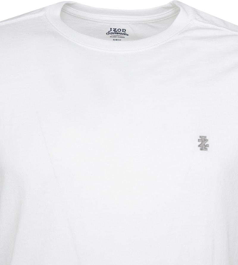 IZOD T-shirt Basic Tee Weiß Foto 1