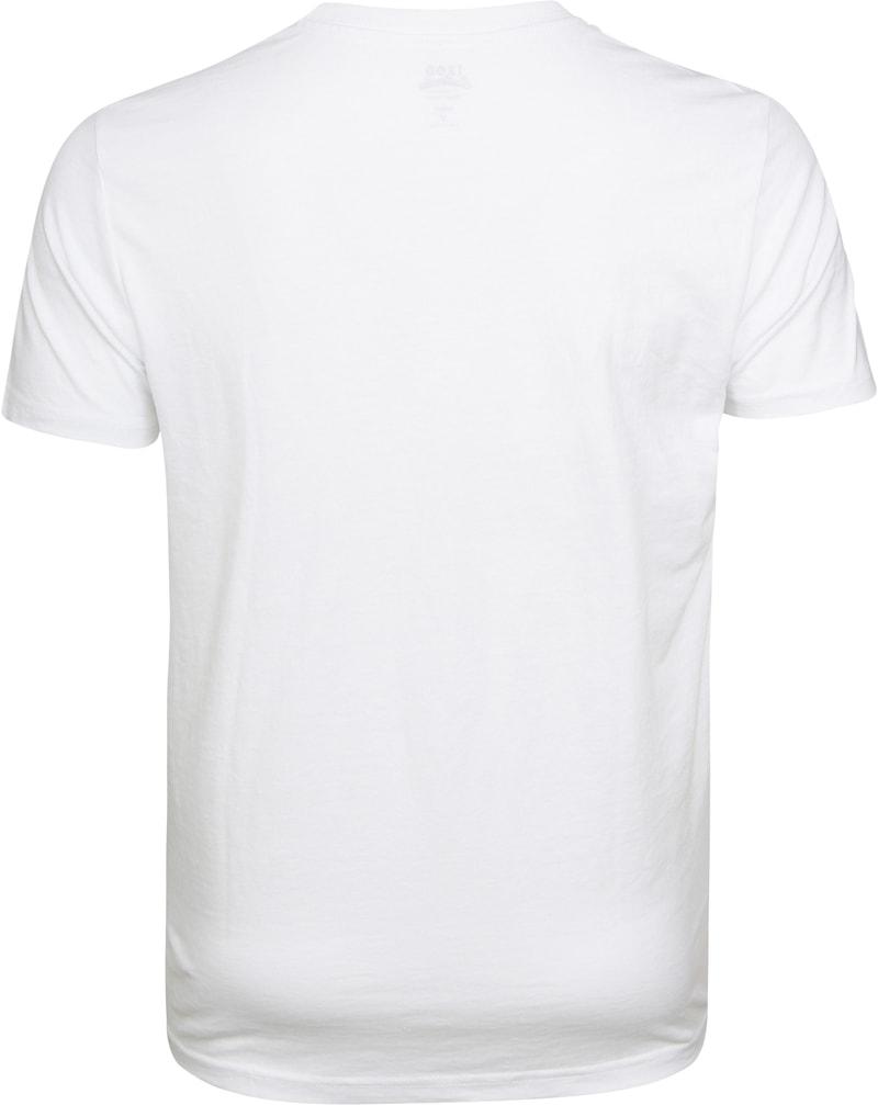 IZOD T-shirt Basic Tee Weiß Foto 3
