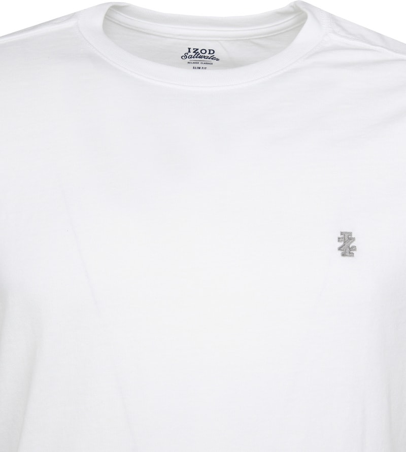 IZOD T-shirt Basic Tee Wit foto 1