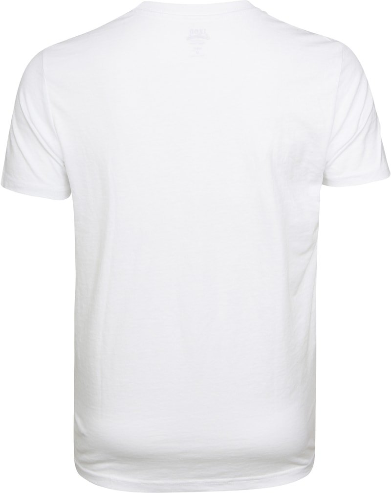 IZOD T-shirt Basic Tee Wit foto 3