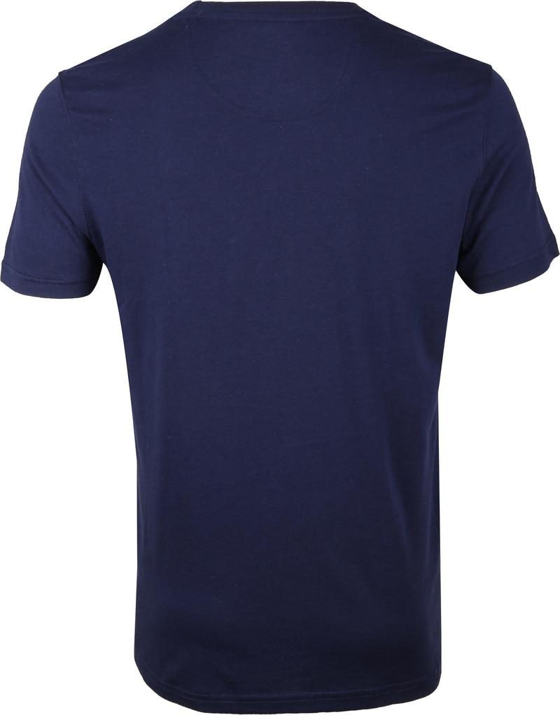IZOD T-shirt Logo Tee Navy foto 3