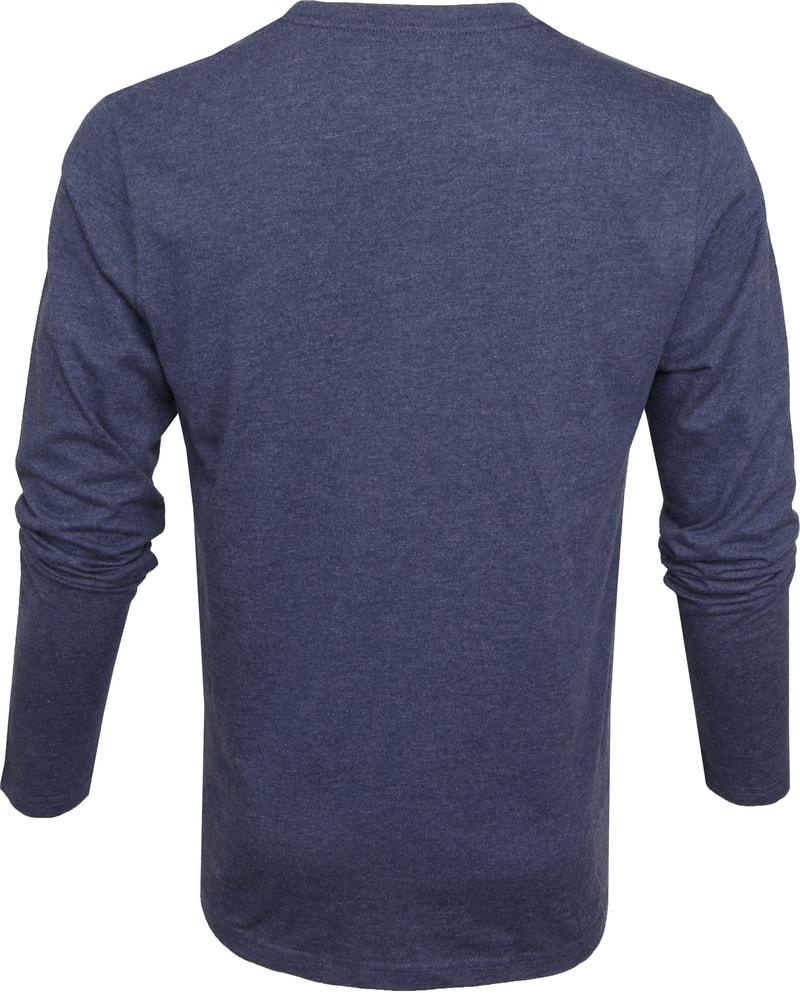 IZOD T-shirt LS Logo Blauw foto 3