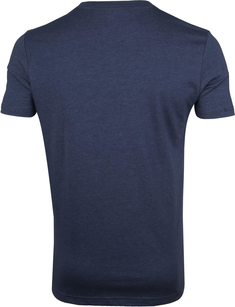 IZOD T-Shirt Print Dark Blue photo 3